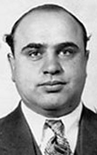 a brief biography of alphonse capone Al capone's wiki: alphonse gabriel capone (/ˈæl kəˈpoʊn/[72] italian: [kaˈpone] january 17, 1899 – january 25, 1947), sometimes known by the nickname scarface, was an american mobster, crime boss, and businessman who attained fame during the prohibition era as the co-f.